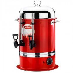 Endüstriyel Çay Otomatı 50 Bardak (Kırmızı)