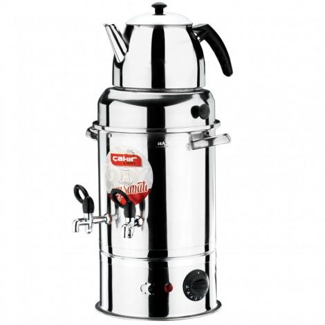Çift Demlik Çay Makinesi (40 Bardak)